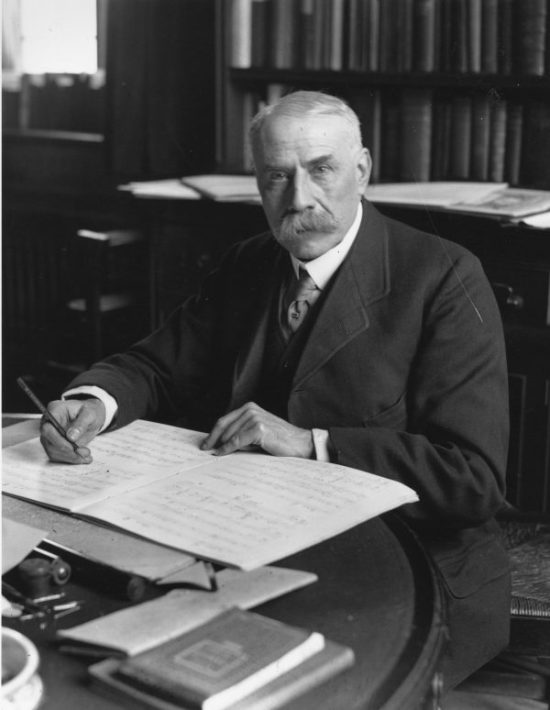 composer Sir Edward William Elgar