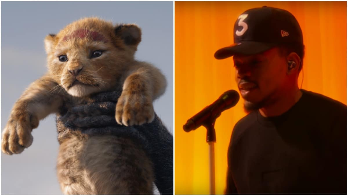 Chance the Rapper Lion King Bush Baby role