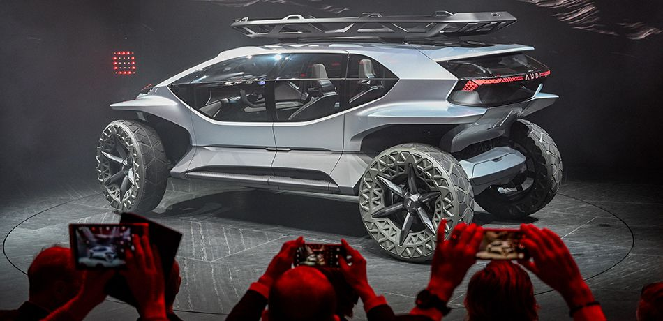 Audi's new AI: Trail off-road concept vehicle