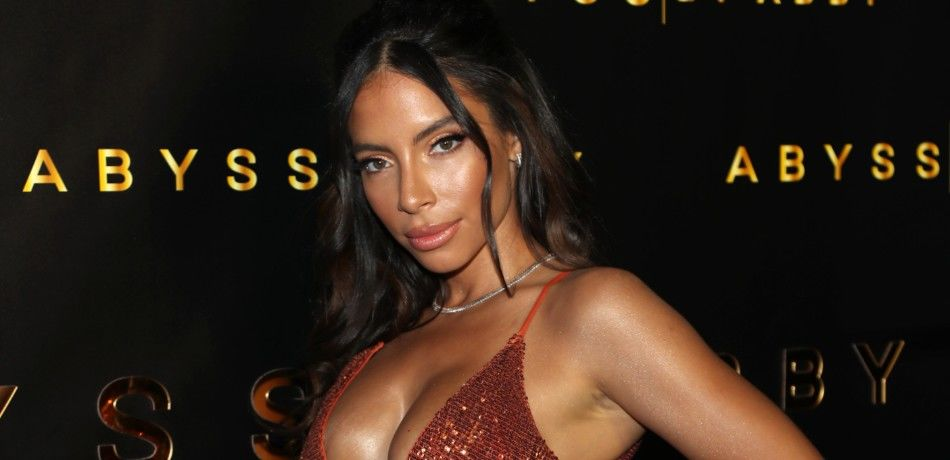 Model Jessica Killings attends a launch event in Los Angeles, California.