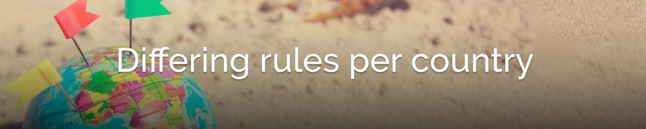 rules per country