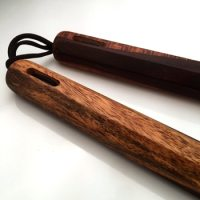 "10.25"" Cocobolo Traditional Octagon Nunchaku"