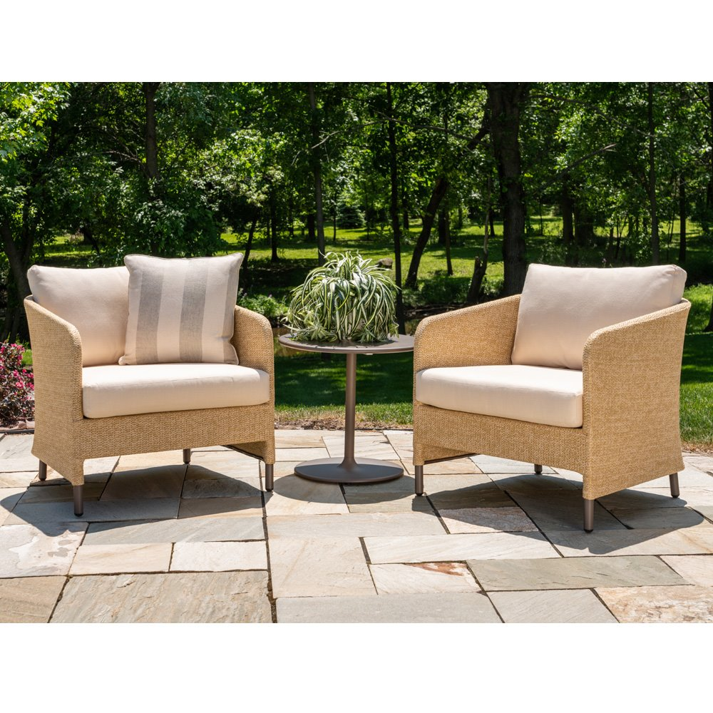 Lounge Chair Patio Lloyd Flanders Verona Lounge Chair Patio Set With Side Table Lf