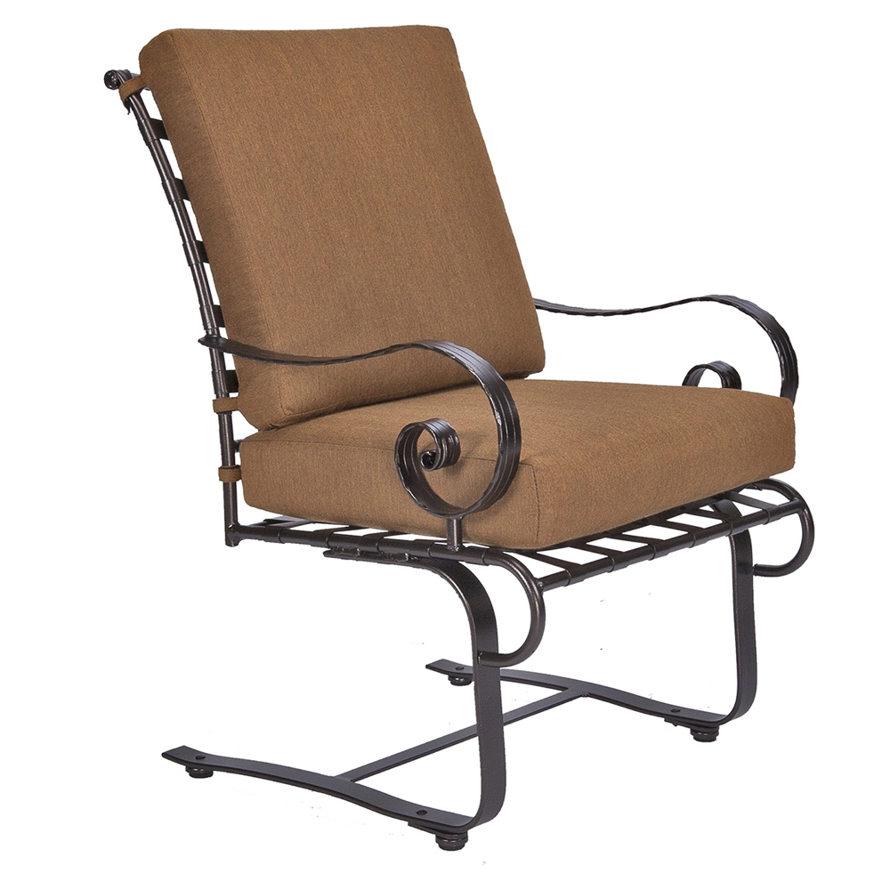 Spring Chair Ow Lee Classico W Club Spring Base Dining Arm Chair