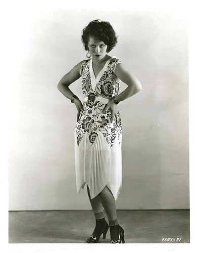 Clara Bow And The Flapper Dress