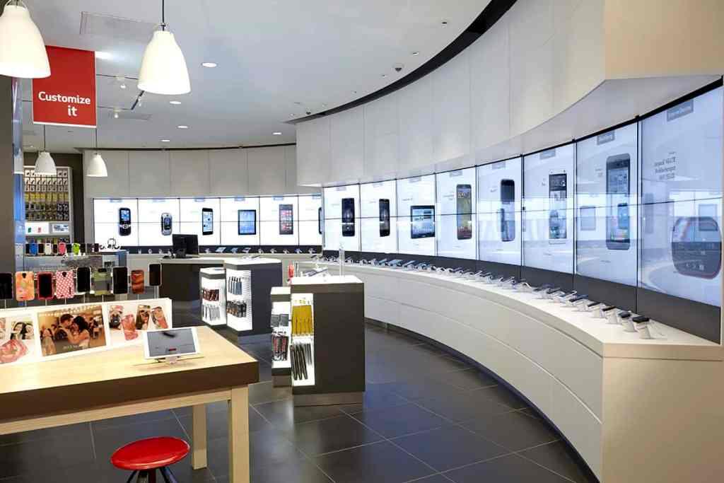 Виртуальная витрина Verizon