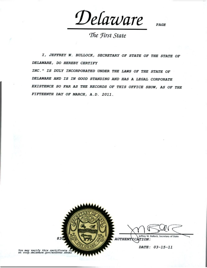Certificate of good standing state indiana best design certificate of good standing swyft filings yadclub Gallery