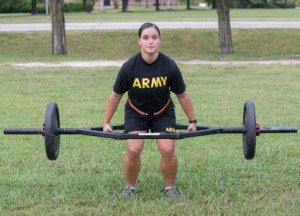New Army Physical Fitness Test Event - Deadlift