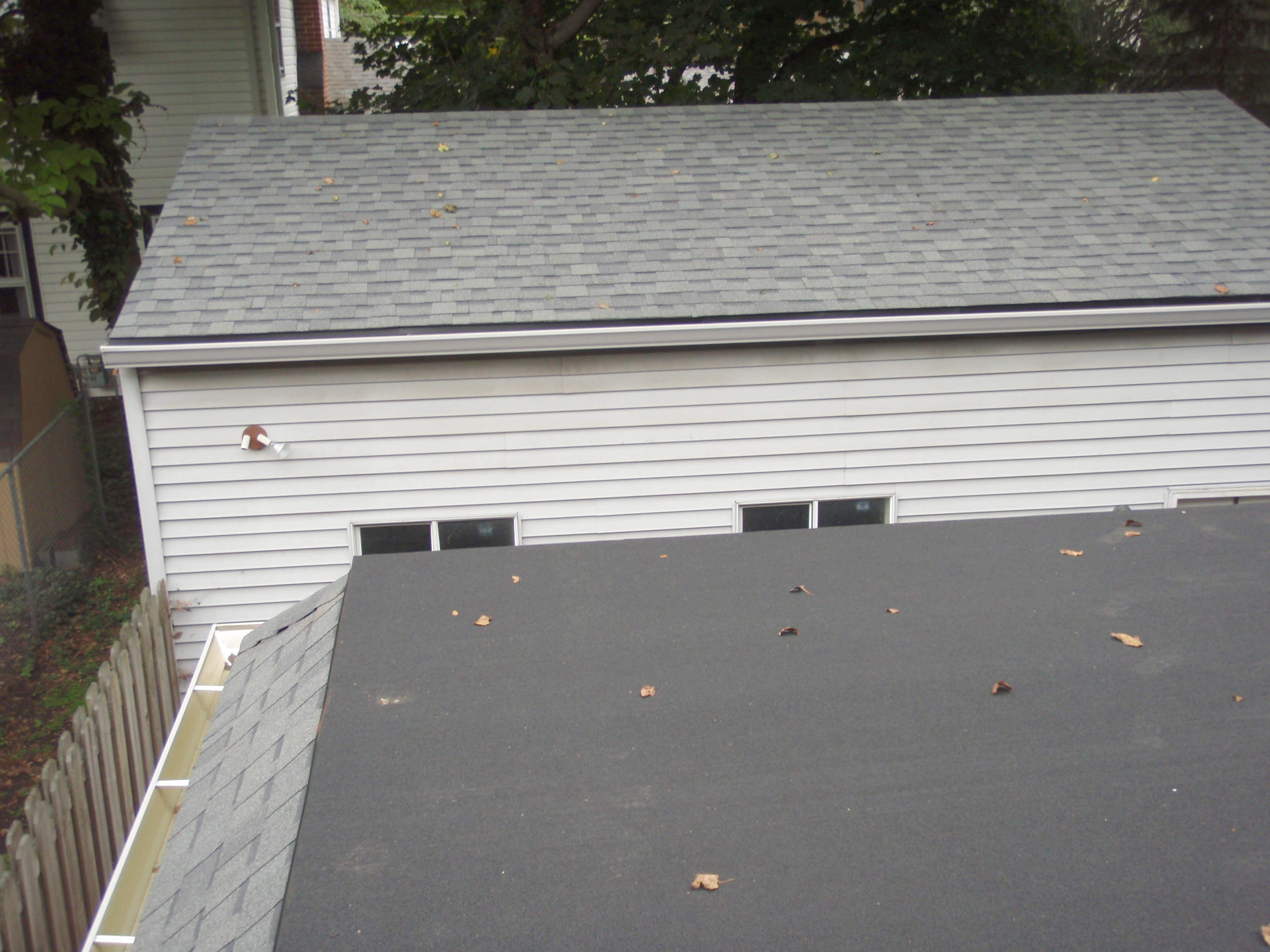 USA Roofing Install New MuleHide On Flat And Shingles.
