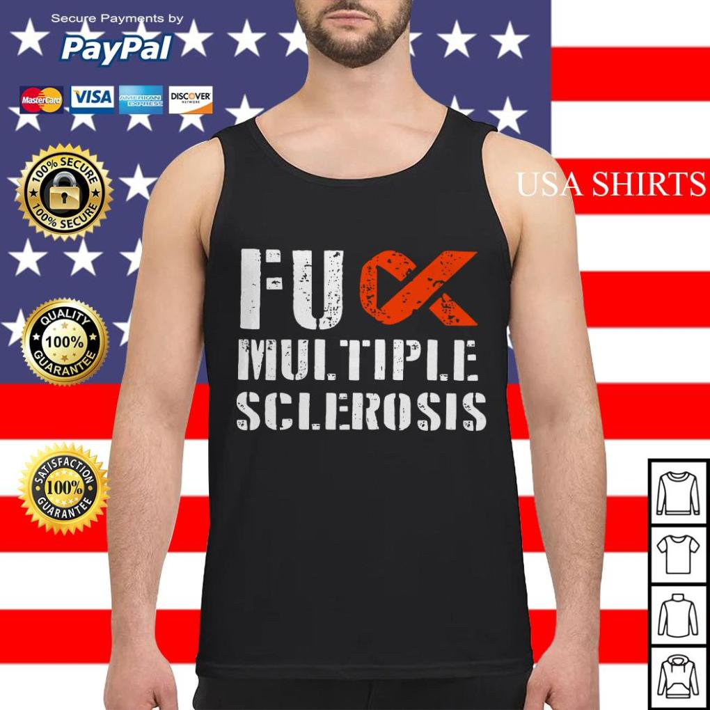 Fuck multiple sclerosis Tank top