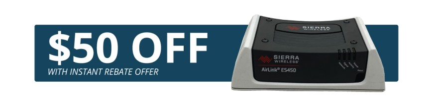 Airlink ES450 Promotion | $50 Instant Rebate