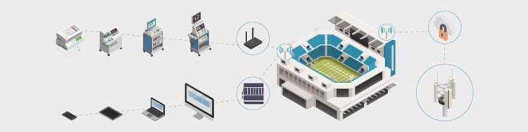 Communications Solutions for Large-Scale Temporary Medical Facilities