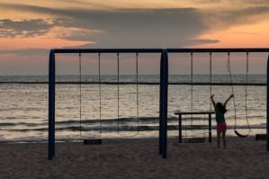 Sunset in Frankfort, MI www.usathroughoureyes.com