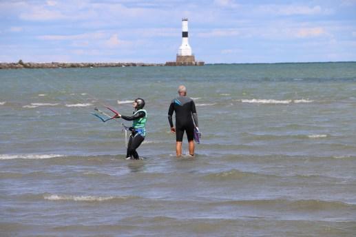 Kite Sailing - Lake Erie, Sandusky, OH