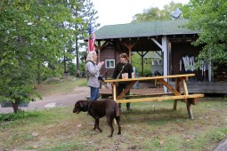 Destry and Audrey with Emma, Gun Flint Trail, www.usathroughoureyes.com
