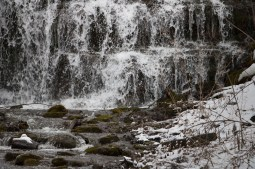 The waterfalls in Clarendon, NY. www.usathroughoureyes.com