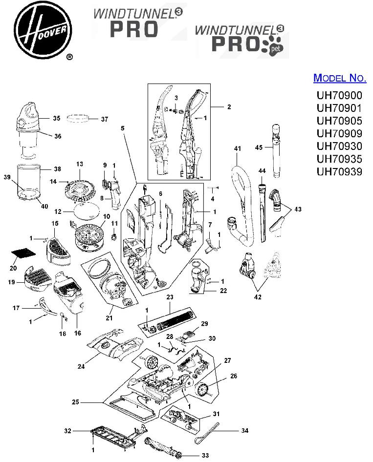 Amazon.com: Hoover Windtunnel Parts