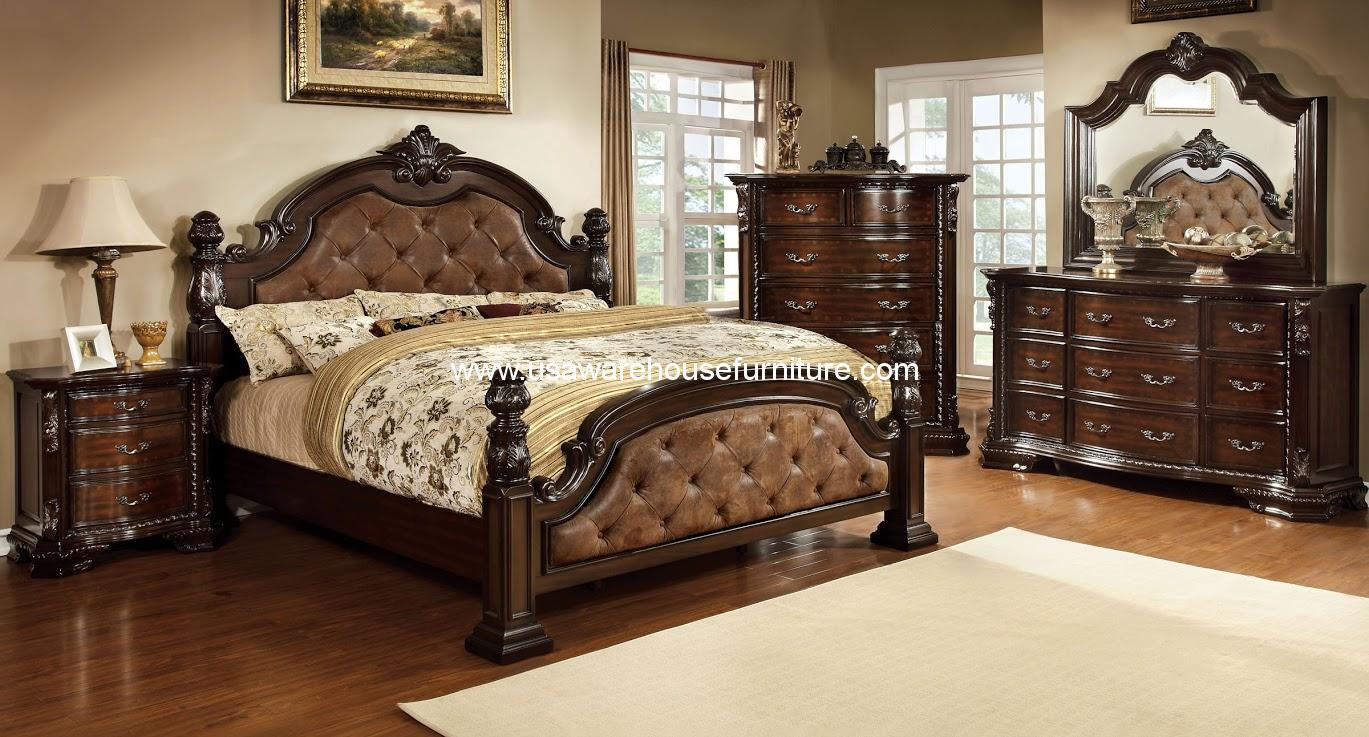 Furniture Of America 4 Piece Monte Vista I Bedroom Set
