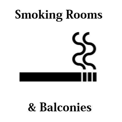 smoking rooms