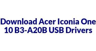 Acer Iconia One 10 B3-A20B