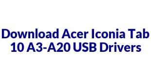 Acer Iconia Tab 10 A3-A20
