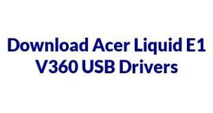 Acer Liquid E1 V360