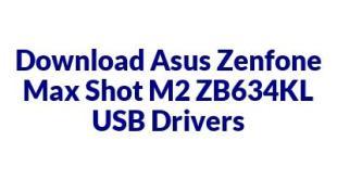 Asus Zenfone Max Shot M2 ZB634KL