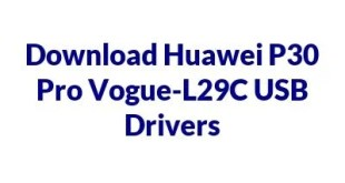 Huawei P30 Pro Vogue-L29C