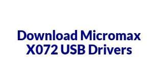 Micromax X072