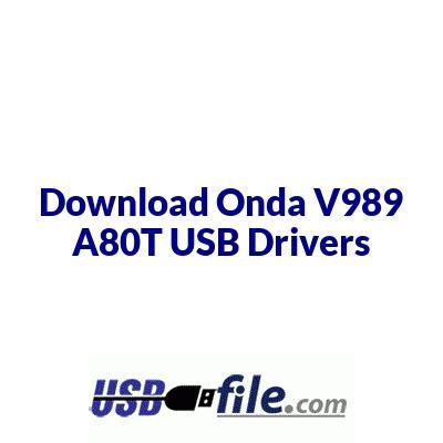 Onda V989 A80T
