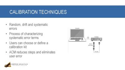 Calibrating Vector Network Analyzers
