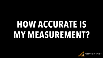 Reflection vs Transmission Accuracy in Vector Network Analyzer Measurement
