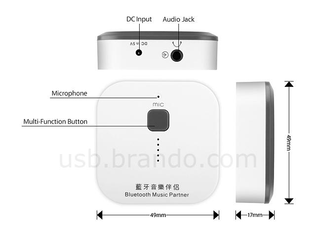 Bluetooth Music Receiver Partner