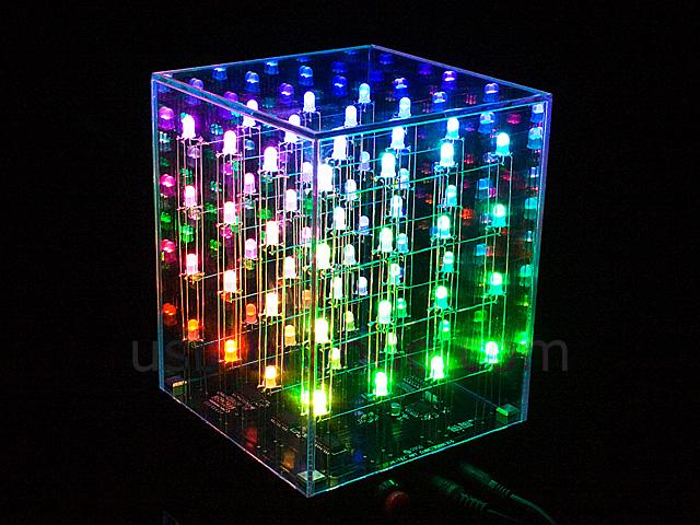 4x4x4 MultiColor LED Cube