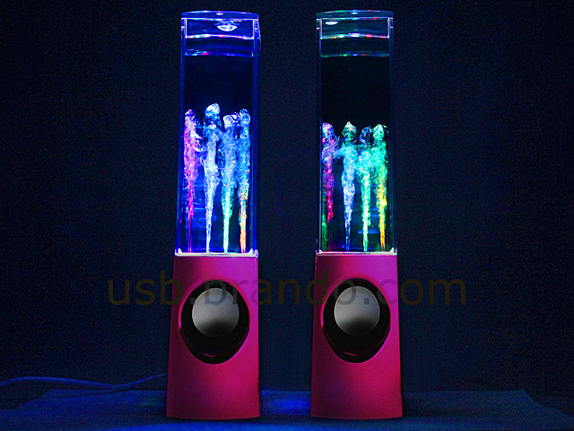 USB Mercury Dancing Water Speaker