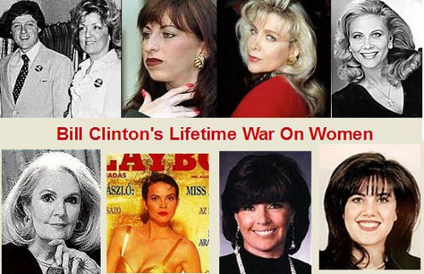 Image result for cartoons hillary clinton and bill clinton attacks on women
