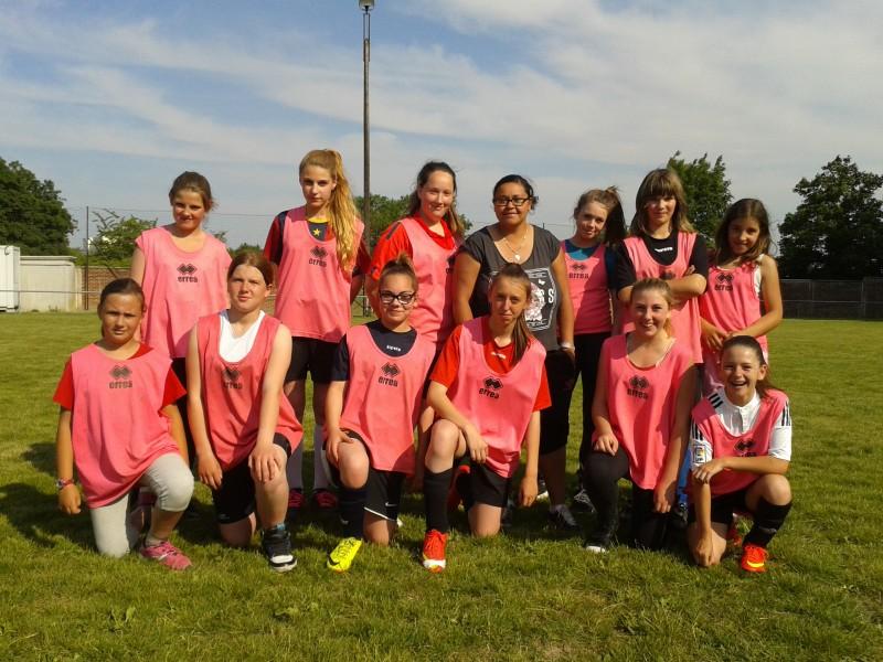 filles ecole de foot