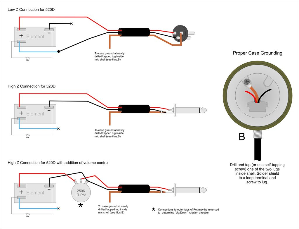 Electret Microphone Wiring To Usb Diagram