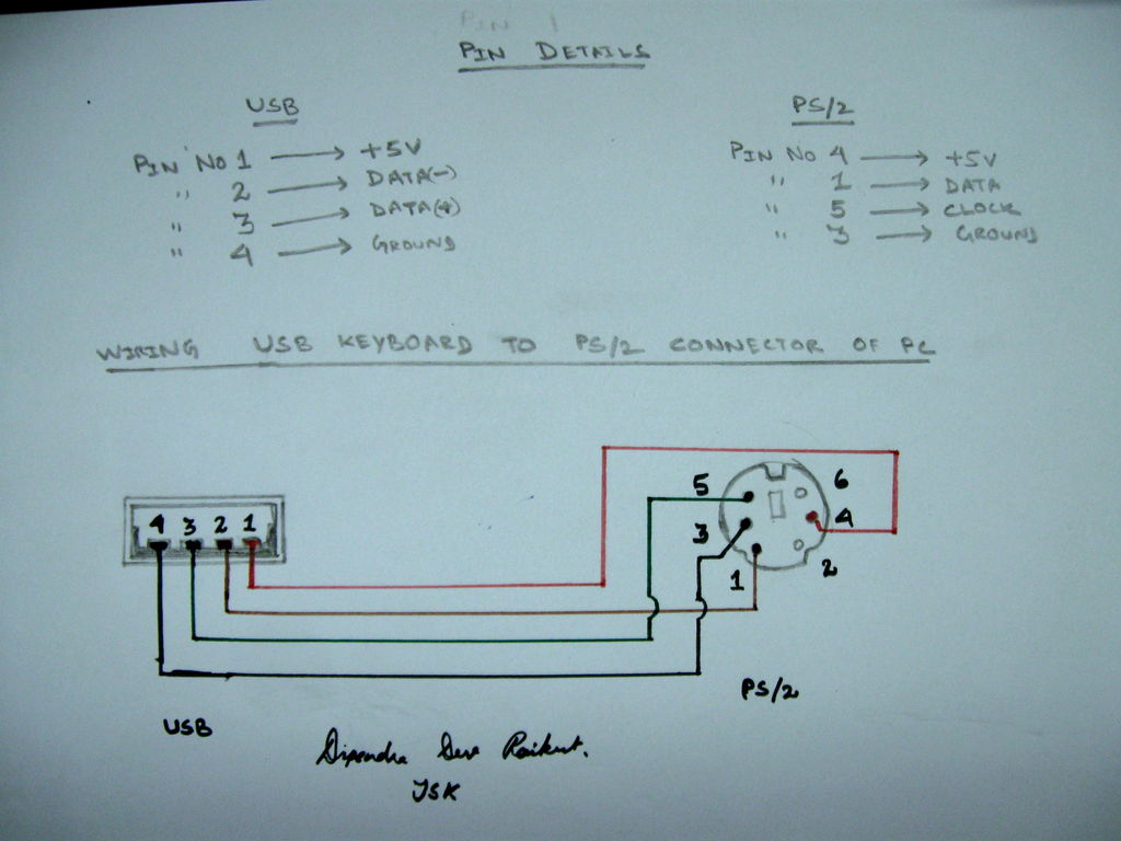 ps2 to usb adapter wiring diagram 4 wire 240 volt ps 2 convertor how convert mouse
