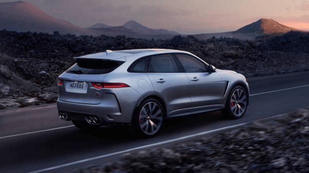 2021 Jaguar F Pace Exterior