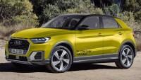 2020 Audi Q1 Spy Shots