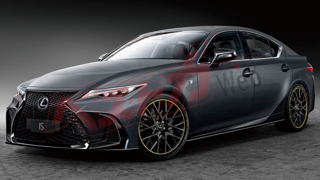 2021 Lexus IS Spy Shots
