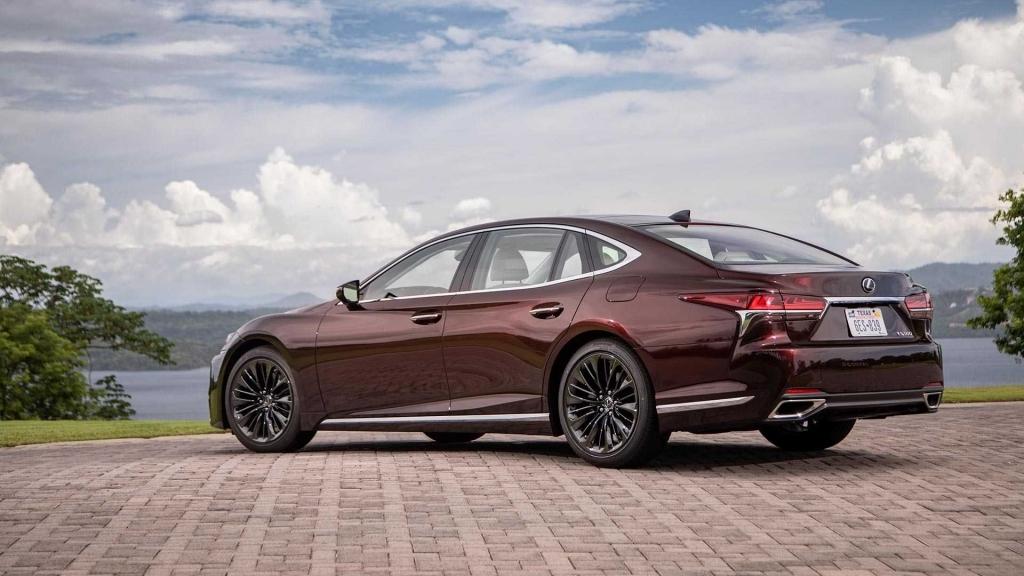 2020 Lexus LS 500 Concept