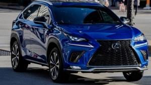 2021 Lexus NX Spy Shots