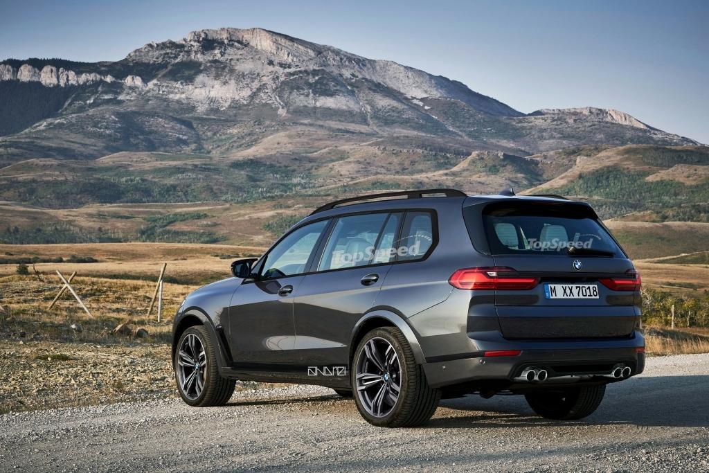 2021 BMW X7 M Spy Photos
