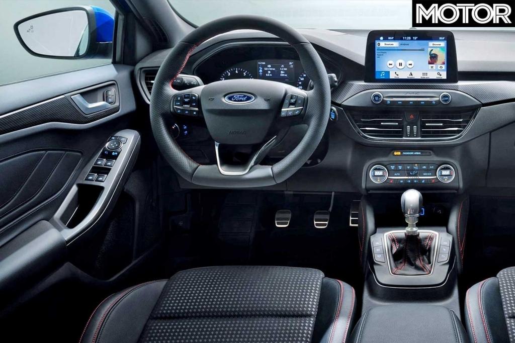2021 Ford Focus RS Drivetrain