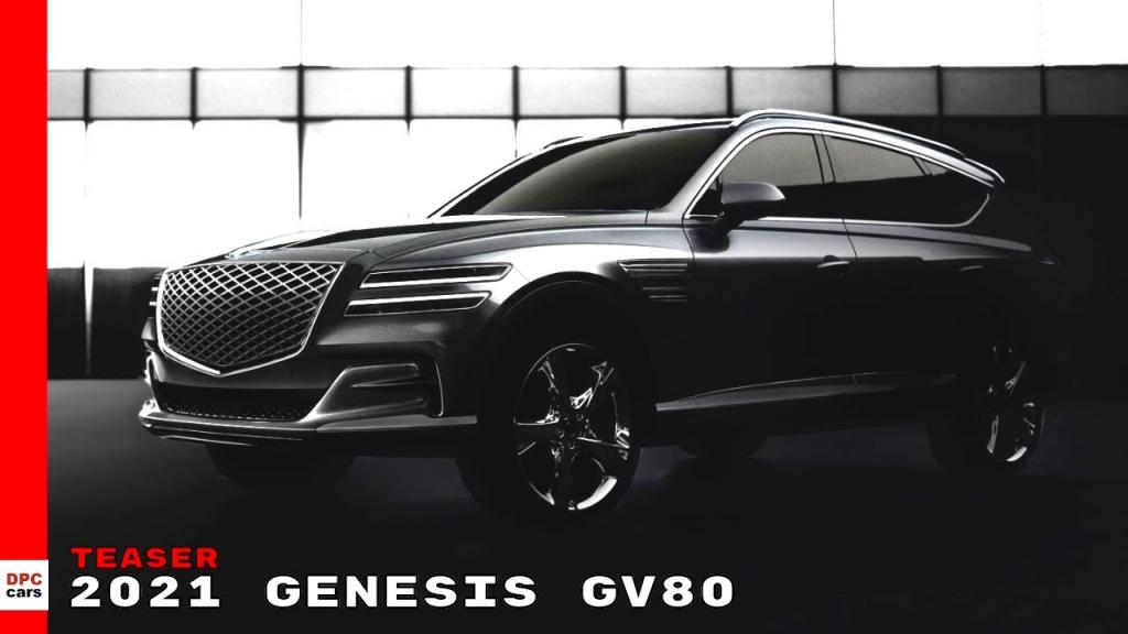 2021 Genesis GV80 Spy Shots