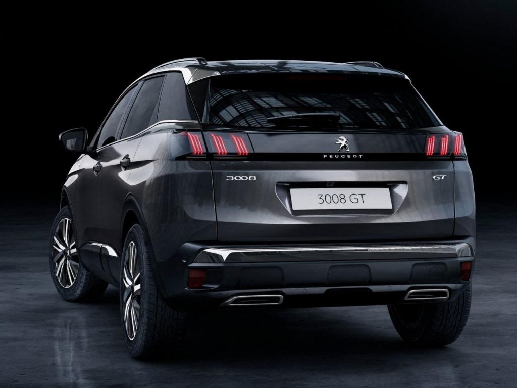 2022 Peugeot 3008 Interior