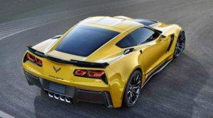 2018 Chevrolet Corvette Z06 Rear View