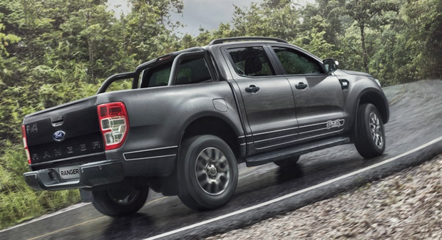 2018 Ford Ranger Rear View